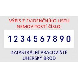 ŠTOČEK PRO RAZÍTKO 55510PL
